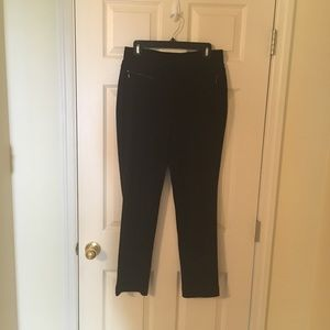 Rafaella pants with zippers - size 10